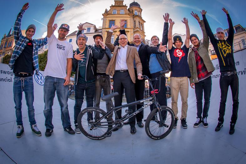 Eventfotos vom Volkswagen Bank Event - Braunschweiger Trendsporterlebnis. Gruppenfoto.