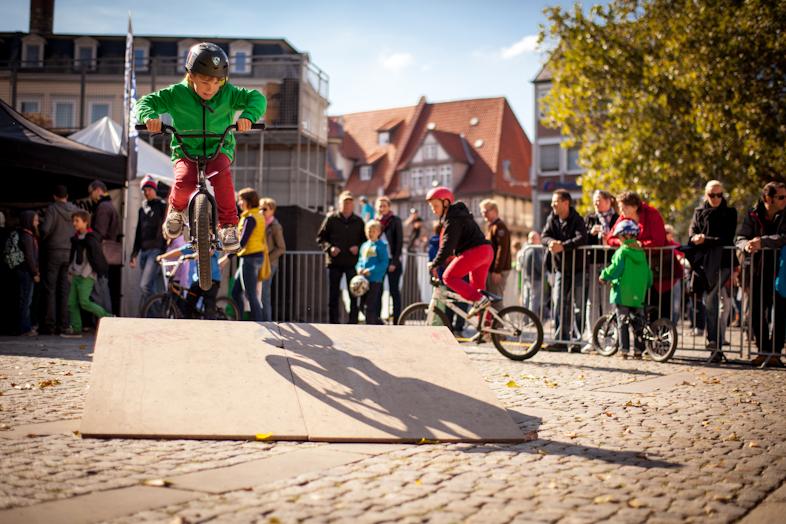 BMX Fotografie beim Braunschweiger Trendsporterlebnis.