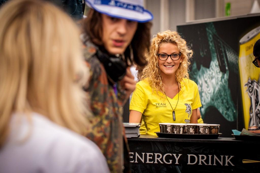 Gamescom Fotografie Relentless Energy