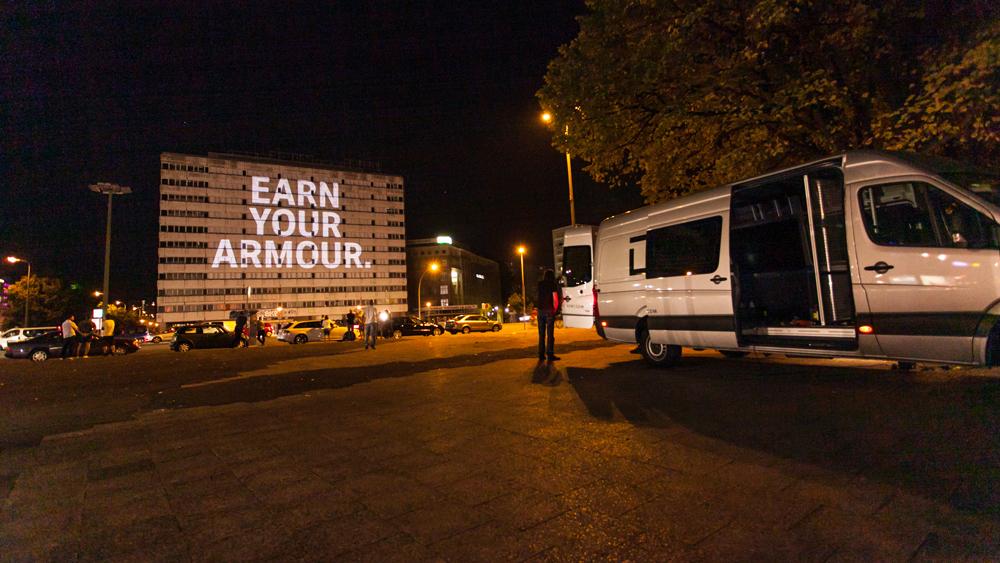 Eventfilm Under Armour Deutschland Markeneinführung - Behind the Scenes