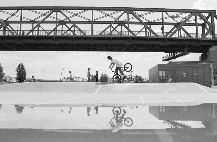 Behind the Scenes Imagefilme für G-SHOCK x Deep BMX - Teamfahrer Kevin Nikulski