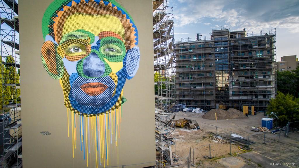 """Imagefilm und Drohnenaufnahmen vom Mural """"Face Time"""""""