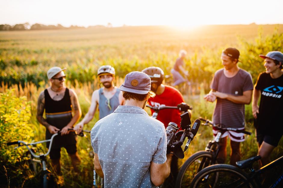 Making-Of Mountainbike-Imagefilm Berlin Dirt